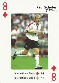 2012 England's Greatest Football Players #8ofD Paul Scholes Front