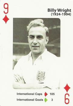 2012 England's Greatest Football Players #9ofD Billy Wright Front
