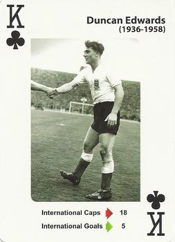 2012 England's Greatest Football Players #KofC Duncan Edwards Front