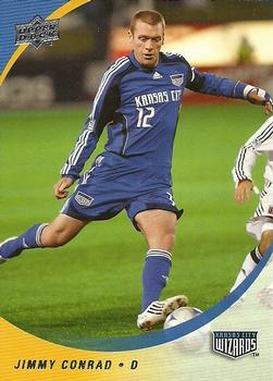2008 Upper Deck MLS #55 Jimmy Conrad Front