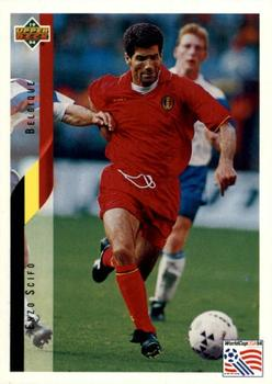 1994 Upper Deck World Cup Contenders English/German #85 Enzo Scifo Front