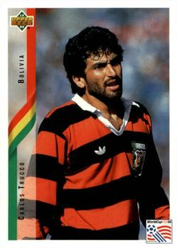 1994 Upper Deck World Cup Contenders English/German #186 Carlos Trucco Front
