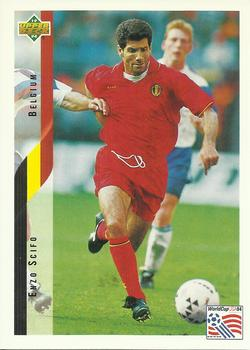 1994 Upper Deck World Cup Contenders English/Spanish #106 Enzo Scifo  Front