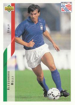 1994 Upper Deck World Cup Contenders English/Spanish #160 Alessandro Melli Front