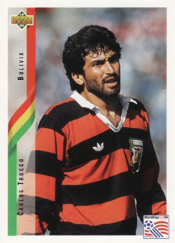 1994 Upper Deck World Cup Contenders English/Spanish #221 Carlos Trucco Front