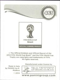 Panini 464 Ashkan Dejagah Iran FIFA WM 2014 Brasilien