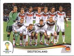 Panini 490 Manuel Neuer Deutschland FIFA WM 2014 Brasilien
