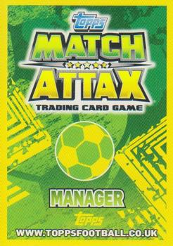 2014 Topps Match Attax World Stars - Managers #275 Ange Postecoglou Back