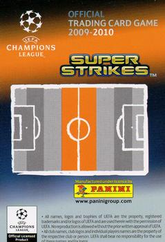 2009-10 Panini UEFA Champions League Super Strikes #NNO Xavi Hernandez Back