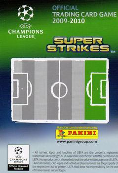 2009-10 Panini UEFA Champions League Super Strikes #NNO Sidney Govou Back