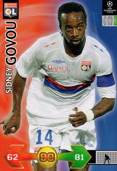 2009-10 Panini UEFA Champions League Super Strikes #NNO Sidney Govou Front