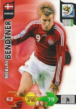 123-nicklas bendtner-base Card Topps liga de campeones