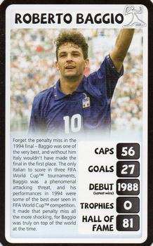 fad5b744c 2010 Top Trumps Tournament Legends  NNO Roberto Baggio Front