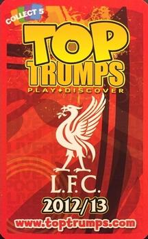 2012-13 Top Trumps Liverpool F.C #NNO Brad Jones Back