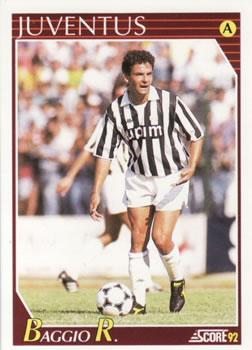 1b935283d 1992 Score Italian League  145 Roberto Baggio Front