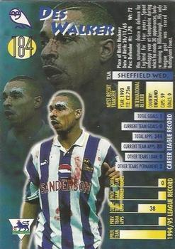 Merlin Premier League 99-Des Walker Sheffield Wednesday #422