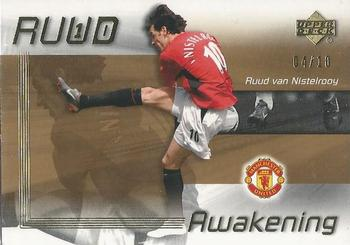 2003 Upper Deck Manchester United - Ruud Awakening Gold #RA2 Ruud Van Nistelrooy Front