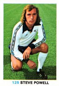 RED BACK 1977 -#122- DERBY STEVE POWELL TOPPS-FOOTBALL