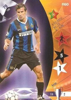 Panini 172 Figo FC Internazionale UEFA CL 2007//08