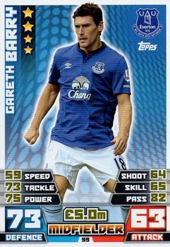 Gareth BARRY 2014 435 2015 EPL Match Attax Record Breaker