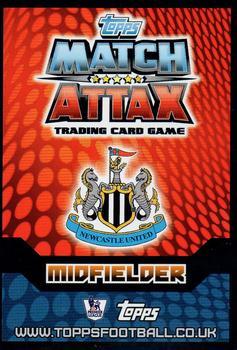 Match ATTAX 2014//15 premier League #209 Cheick tiote-Newcastle united