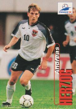1998 Panini World Cup #83 Andreas Herzog Front