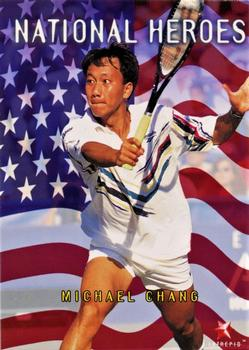 1996 Intrepid Blitz ATP #74 Michael Chang Front