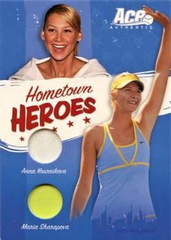 2007 ACE AUTHENTIC ANNA KOURNIKOVA  Jersey Shirt Material TENNIS #JC20