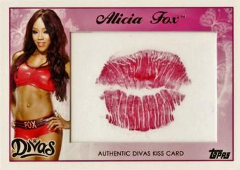 2015 Topps WWE - Diva Kiss #NNO Alicia Fox Front