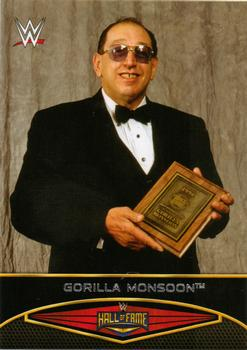 2015 Topps WWE Road to Wrestlemania - Hall of Fame #3 Gorilla Monsoon Front