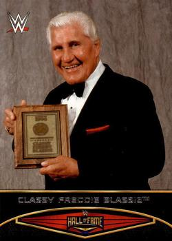 2015 Topps WWE Road to Wrestlemania - Hall of Fame #2 Classy Freddie Blassie Front