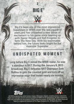 2016 Topps WWE Undisputed #2 Big E Back