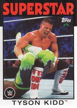 #173 Tyson Kidd Slam Attax takeover