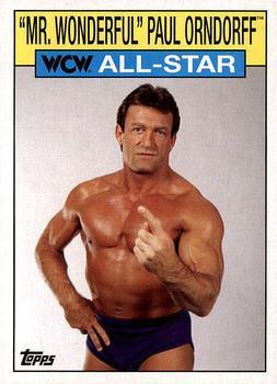 2018 Topps Legends of the WWE Bronze #37 Hall Fame Paul Orndorff Mr Wonderful