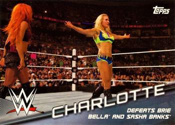 #44 CHARLOTTE 2016 Topps WWE Heritage DIVA