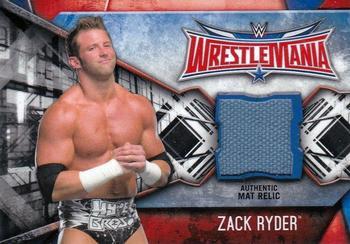 Worstelen 2017 Topps WWE Undisputed Relics #UR-ZR Zack Ryder Wrestling Card