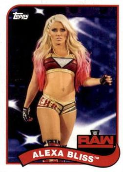 2018 Topps WWE Heritage #3 Alexa Bliss Front