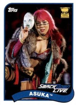 2018 Topps WWE Heritage #7 Asuka Front