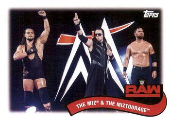 2018 Topps WWE Heritage - Tag Teams and Stables #TT-6 The Miz / The Miztourage Front