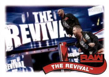 2018 Topps WWE Heritage - Tag Teams and Stables #TT-7 The Revival Front