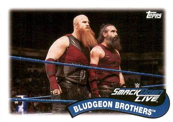 2018 Topps WWE Heritage - Tag Teams and Stables #TT-8 Bludgeon Brothers Front