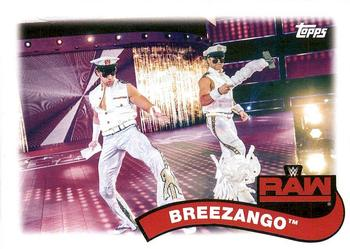 2018 Topps WWE Heritage - Tag Teams and Stables #TT-9 Breezango Front