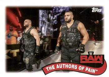 2018 Topps WWE Heritage - Tag Teams and Stables #TT-15 The Authors of Pain Front