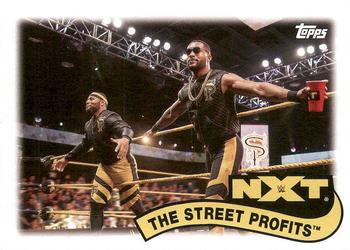 2018 Topps WWE Heritage - Tag Teams and Stables #TT-19 The Street Profits Front