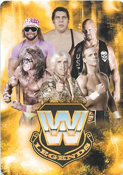 2018 Topps WWE Wrestling WWE Hall of Fame Tribute Ultimate Warrior #14 Wins the WWE Championship at WrestleMania VI Wres