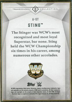 2019 Topps WWE Transcendent Collection #A-ST Sting Back