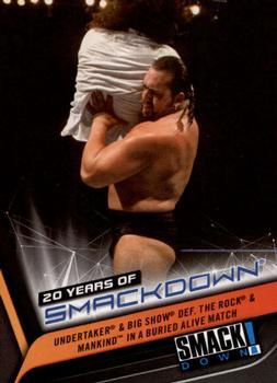2019 TOPPS WWE SMACKDOWN Live Cox #73 Eddie Guerrero