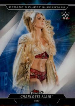 2020 Topps WWE Finest - Decade's Finest Superstars #S-2 Charlotte Flair Front