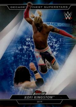 2020 Topps WWE Finest - Decade's Finest Superstars #S-5 Kofi Kingston Front