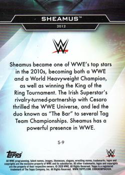 2020 Topps WWE Finest - Decade's Finest Superstars #S-9 Sheamus Back